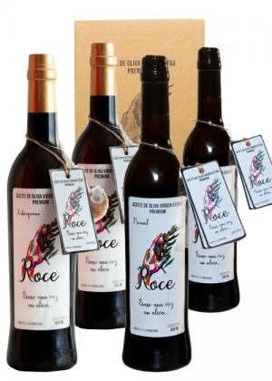 Elige la cantidad de botellas de arbequina y picual